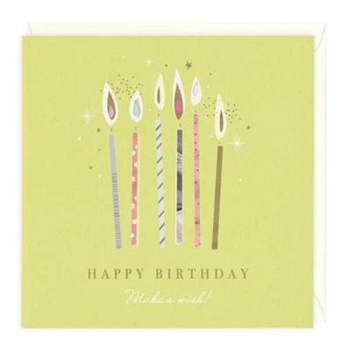 Happy Birthday Make A Wish Card