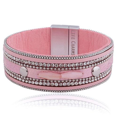 Light Pink Wrap Bracelet
