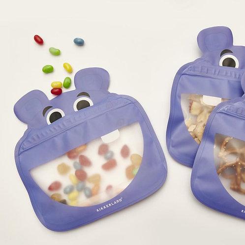 Hippo Zip Bags