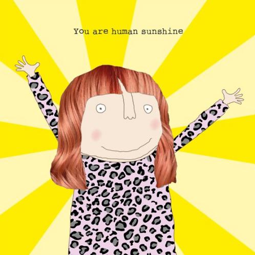 Human Sunshine Card