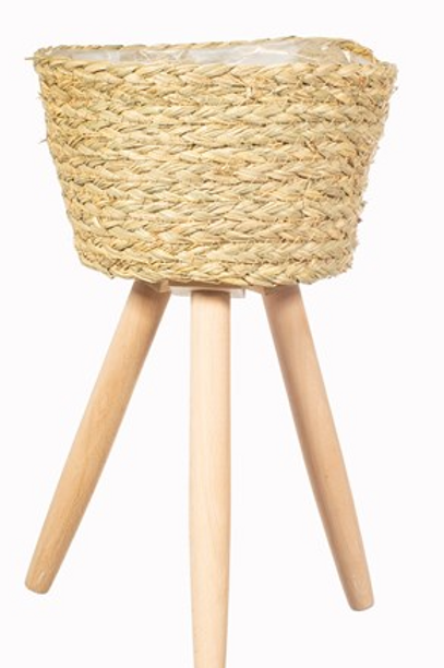 Basket Planter on Legs