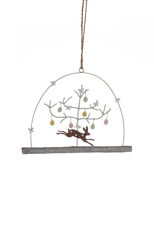 Spring Hare Hanging Decoration