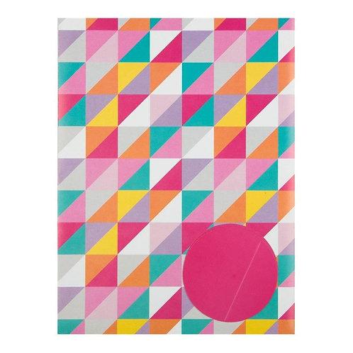 Pink Pixel Wrapping Paper Set