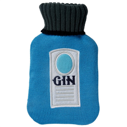 Gin Hot Water Bottle