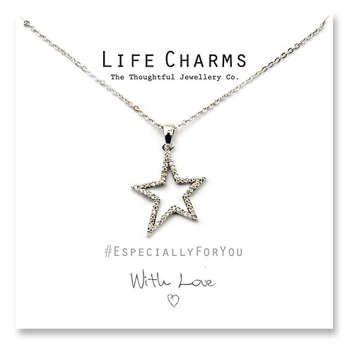 With Love Star Necklace