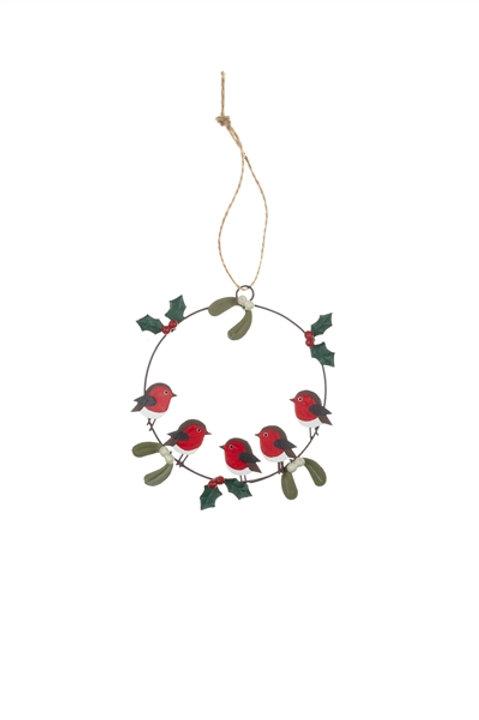 Robin ring decoration