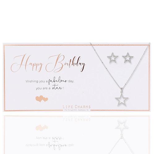 Happy Birthday Jewellery Set