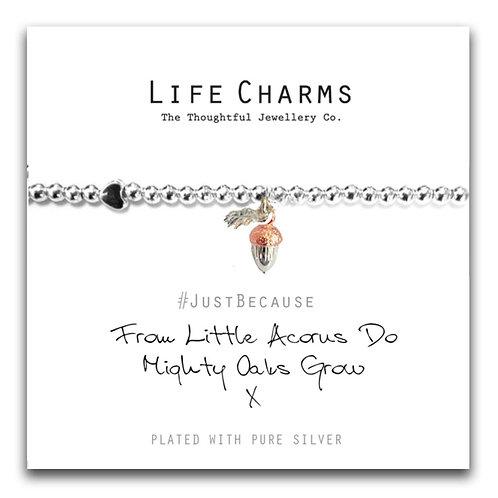 From Little Acorns Bracelet