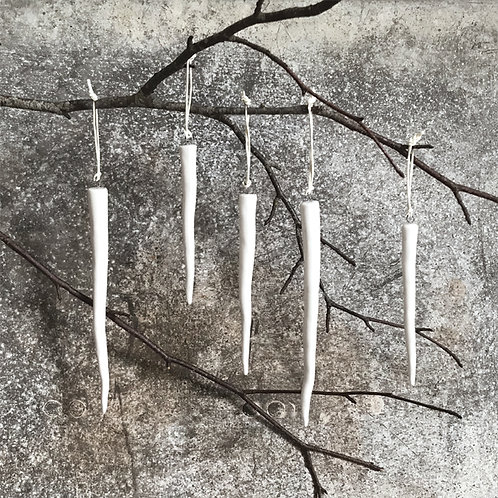 East of India Porcelain Icicles