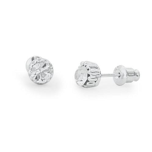Diamond Crystal Stud Earrings