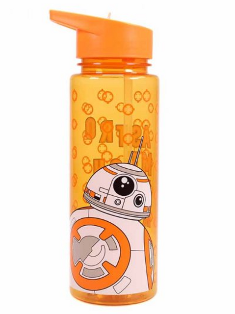 Star Wars Water Bottle with Straw