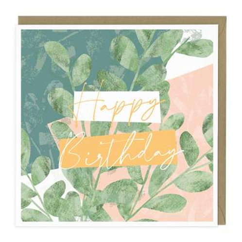 Happy Birthday Tree Card