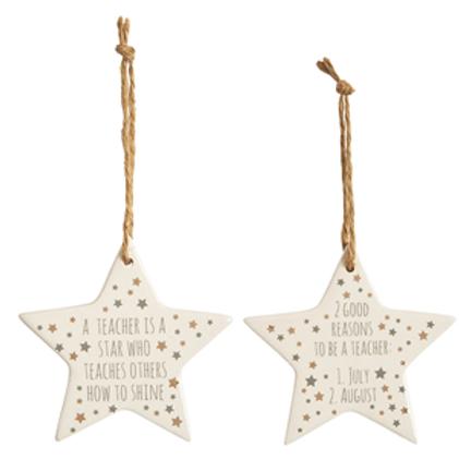 Teacher Star Decoration