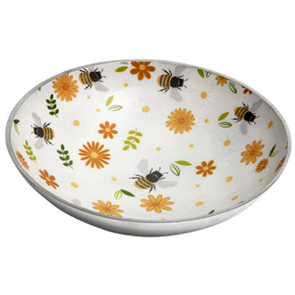 Busy Bees Round Bowl