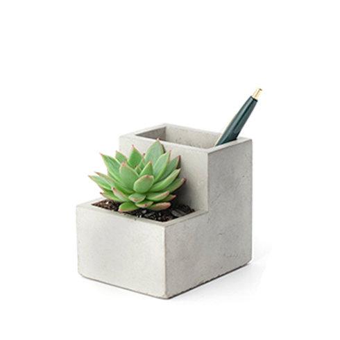 Concrete Desktop Planter
