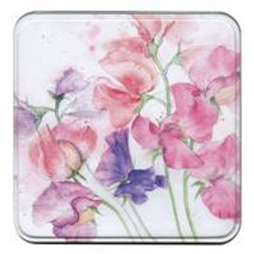 Sweet Peas Notelets in a Tin