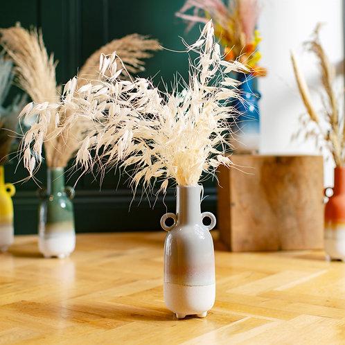 Mojave Glaze Grey Large Vase