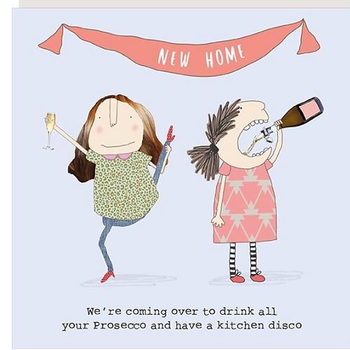 New home - Kitchen Disco Card