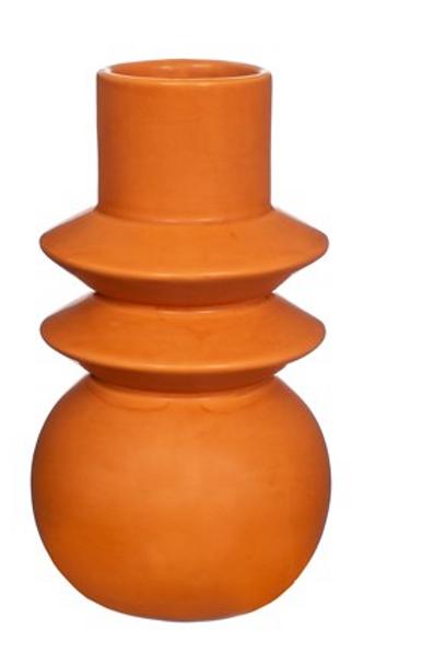 Terracotta Totem Vase