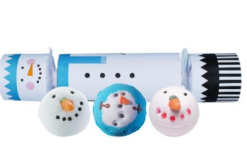 Frosty the Snowman Bath Bomb Cracker
