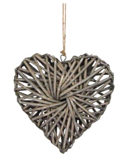 Woven Willow Heart