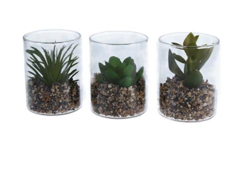 Mini Faux Succulents