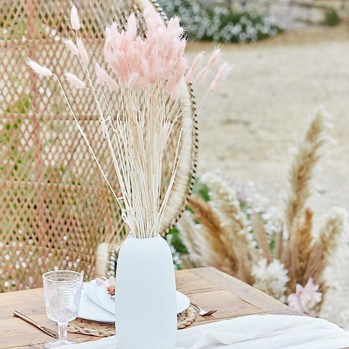 Soft Pink Bunny Tails