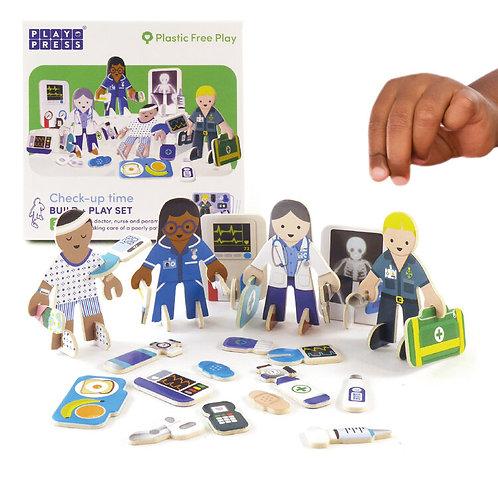 Doctor & Nurse Eco Friendly Playset