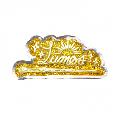 Lumos Enamel Pin Badge