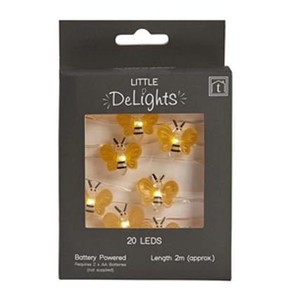 Bee String Lights