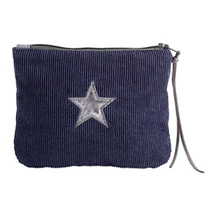 Navy Make-Up Bag