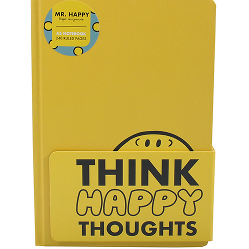 A5 Mr Happy Notebook