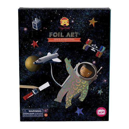 Space Adventures Foil Art
