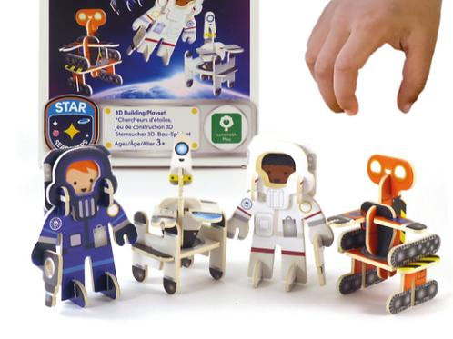 Astronaut & Robots Eco Friendly Playset