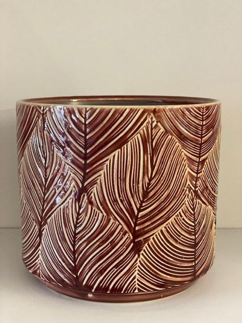 Berry Leaf Pot - Gisela Graham