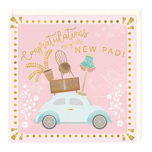 New Pad Card