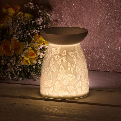 Butterflies Ceramic Tealight Holder