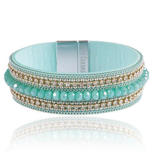 Cyan Wrap Bracelet