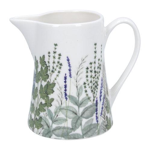 Herbs Ceramic Jug small