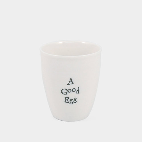 A Good Egg East of India Egg Cup