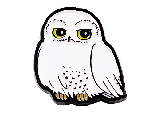 Hedwig Enamel Pin Badge