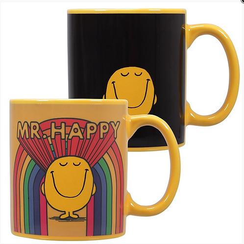 Mr Happy Heat Changing Mug