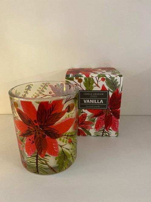 Vanilla Scented Christmas Candle - Gisela Graham