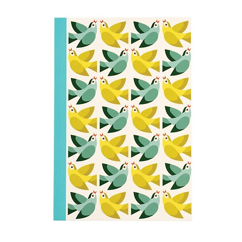 Love Birds A5 Notebook