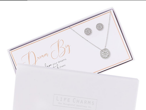 Dream Big Necklace & Earring Set