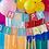 Thumbnail: Multi-Coloured Happy Birthday Banner Bunting