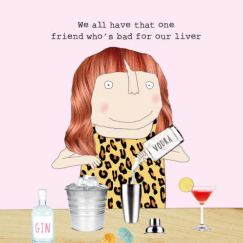 Friend Liver Card