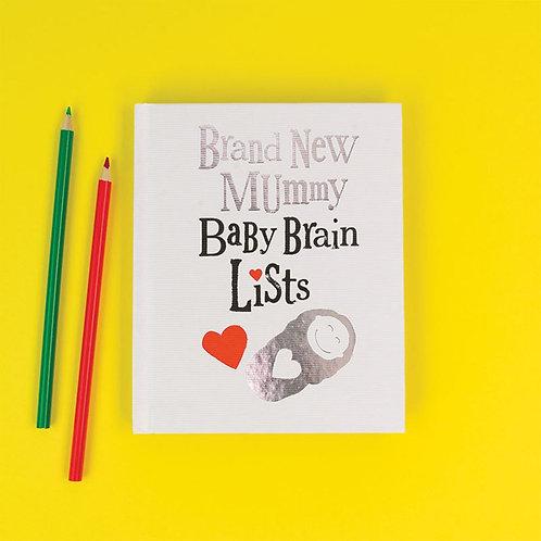 BABY BRAIN LIST BOOK
