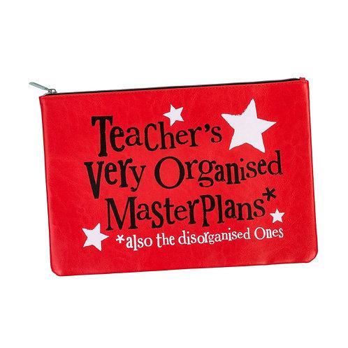 Teacher's Master Plans A4 Pouch