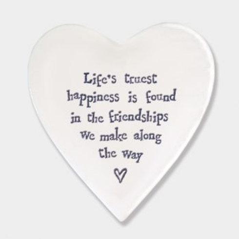 Lifes Truest Happiness Coaster